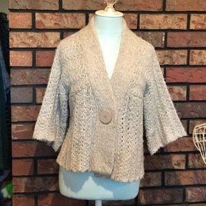 M.I.N.S. cropped sweater